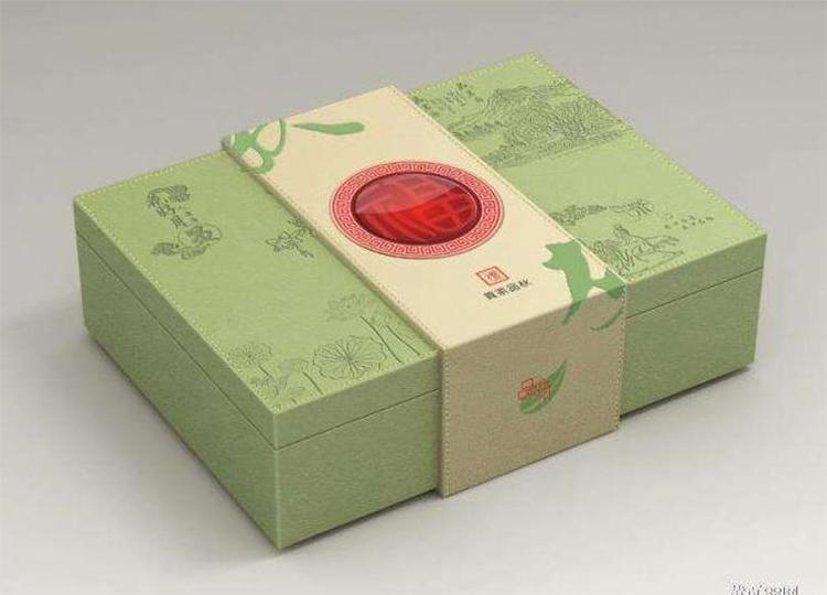 清新淡雅茶叶盒订制