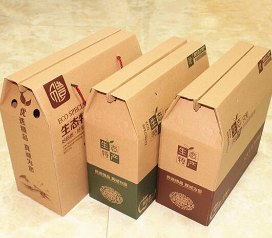 生态特产礼品包装盒制作