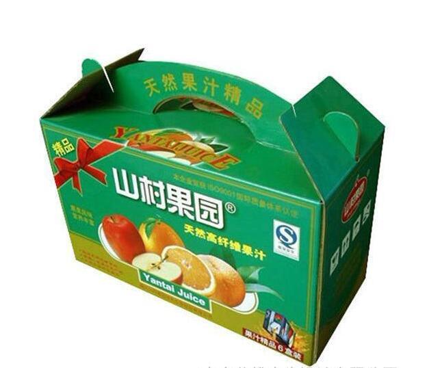水果包装头提箱